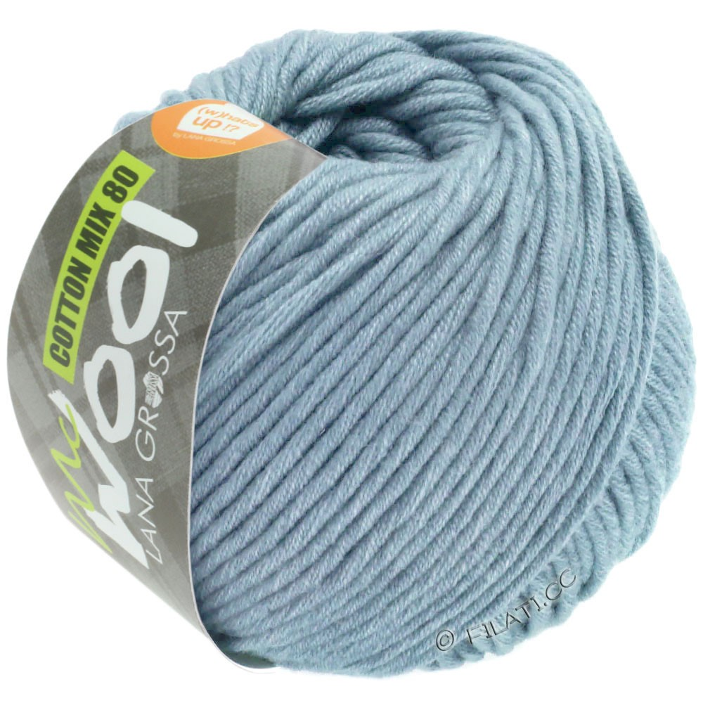 Lana Grossa COTTON MIX 80 (McWool) | 550-bleu clair