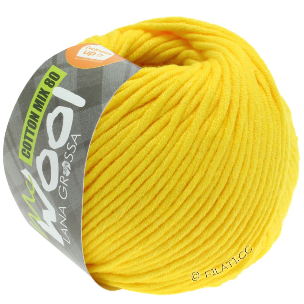 Lana Grossa COTTON MIX 80 (McWool) | 551-jaune