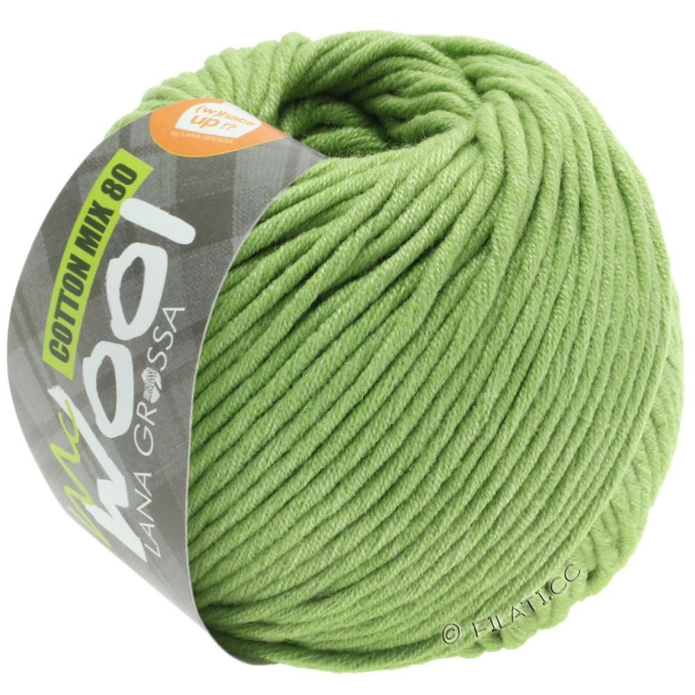 Lana Grossa COTTON MIX 80 (McWool) | 552-beau vert