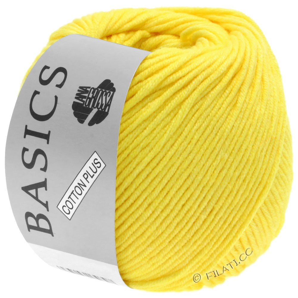 Lana Grossa COTTON PLUS | 108-jaune