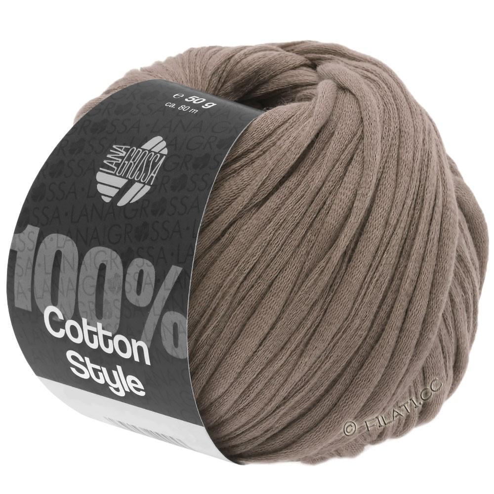 Lana Grossa COTTON STYLE | 04-brun gris