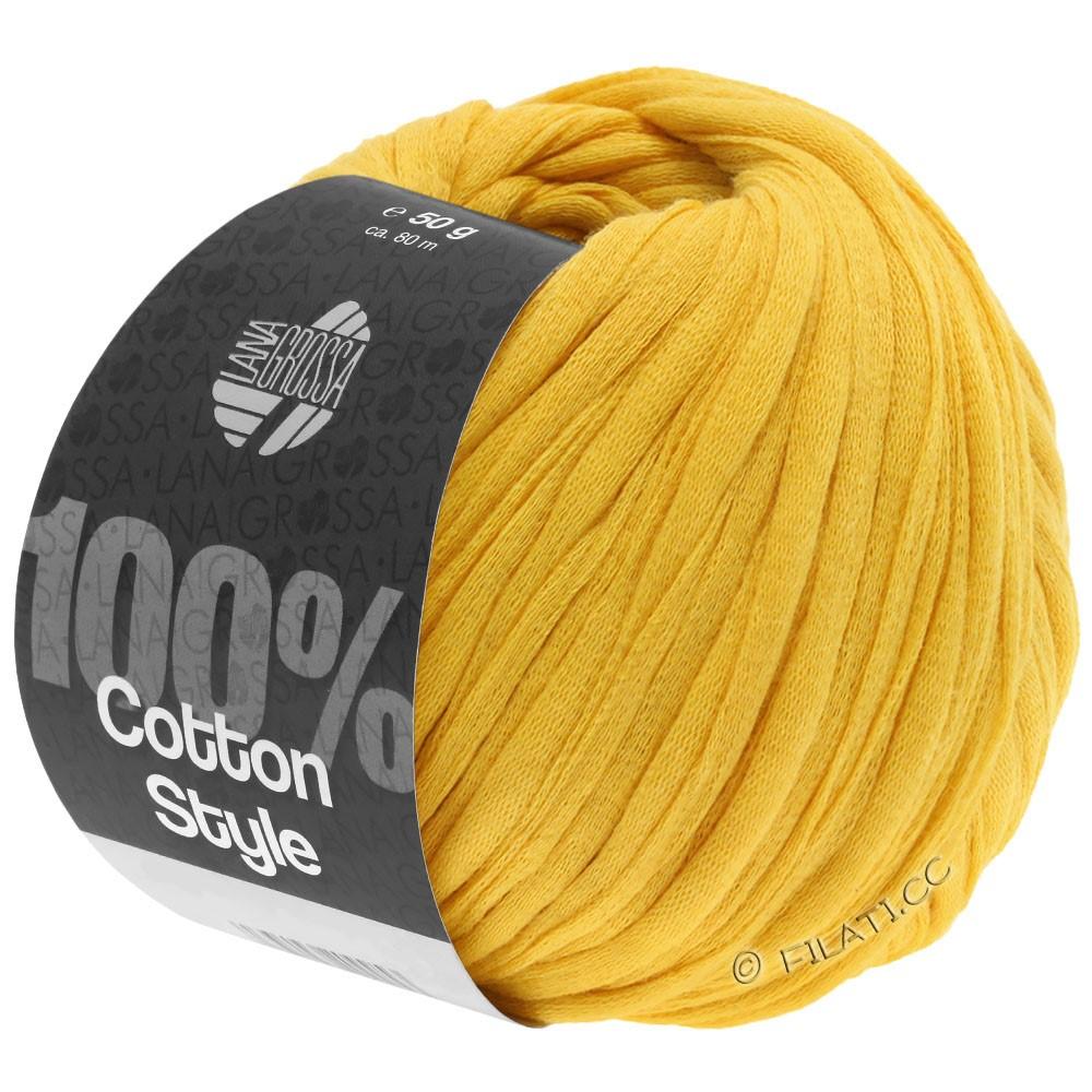 Lana Grossa COTTON STYLE | 15-jaune