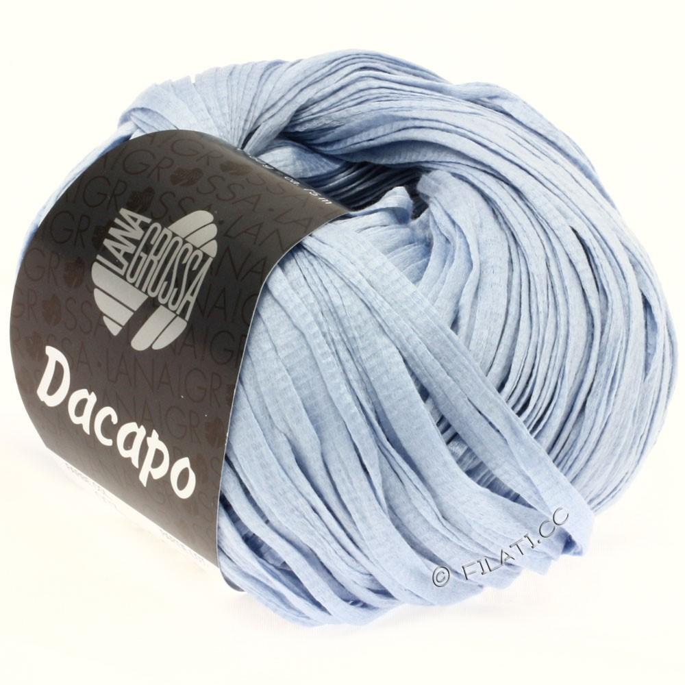 Lana Grossa DACAPO Uni | 007-bleu clair