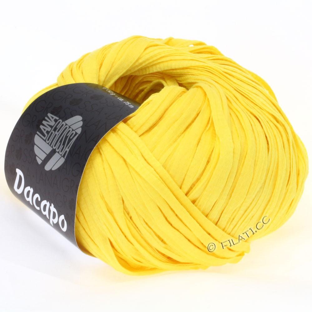 Lana Grossa DACAPO  Uni   017-jaune