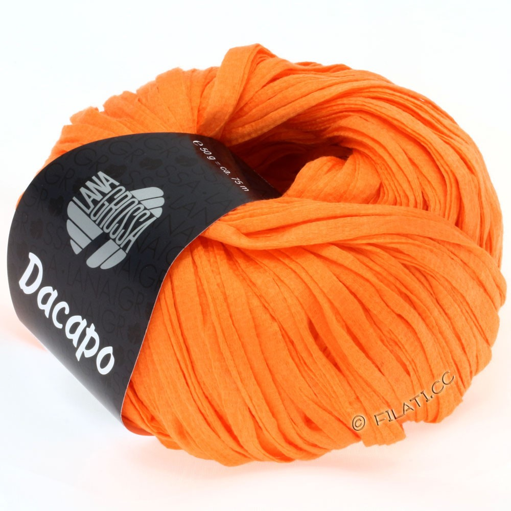 Lana Grossa DACAPO Uni | 024-orange