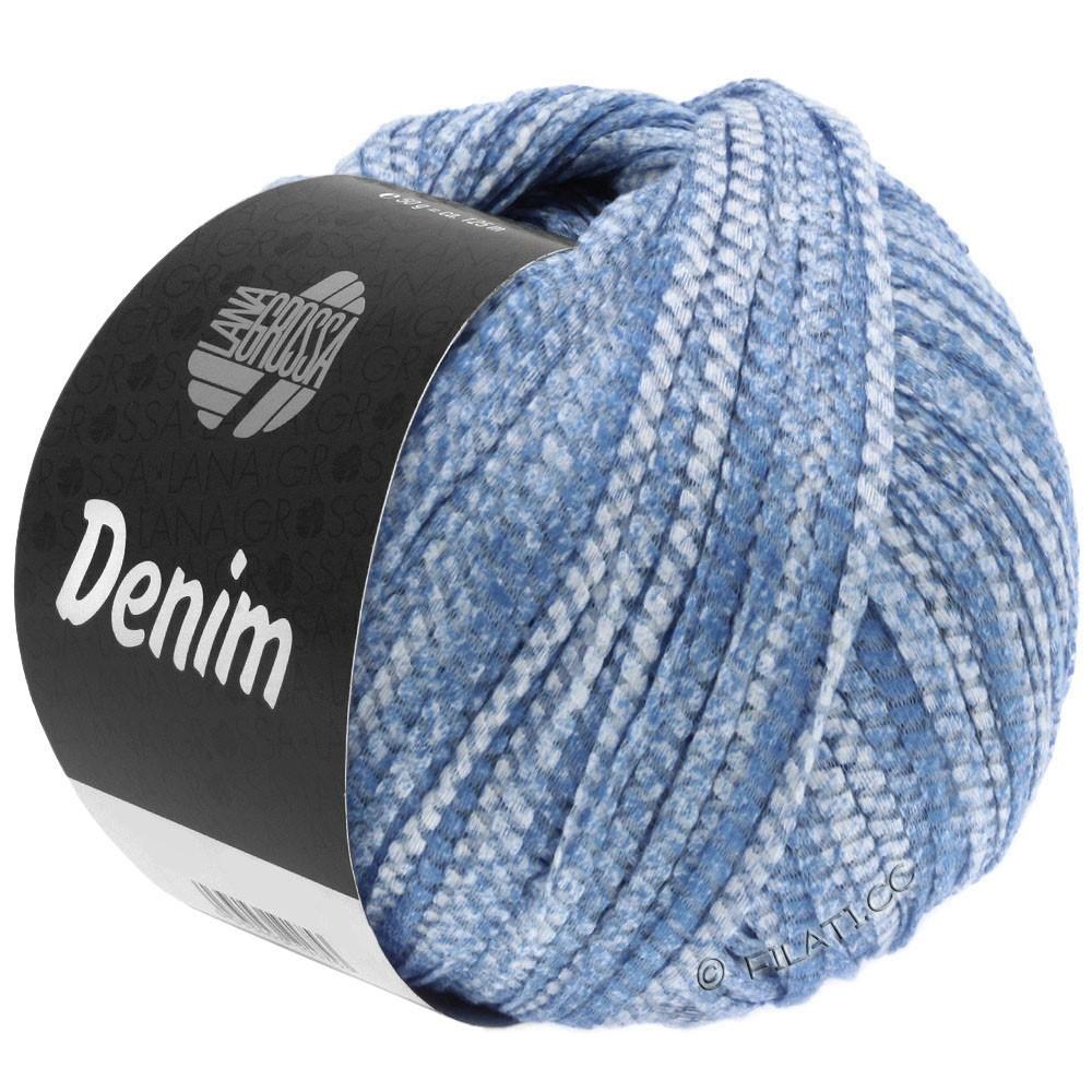 Lana Grossa DENIM | 19-bleu/blanc