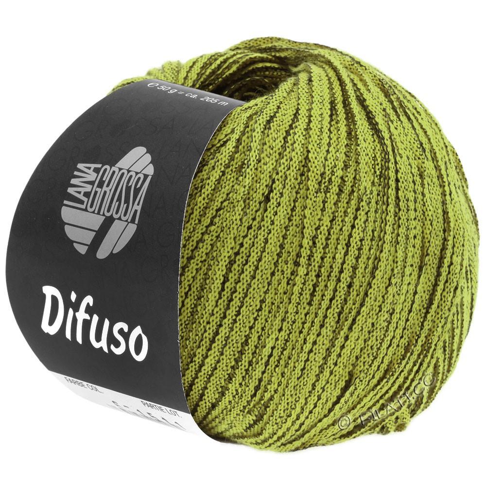 Lana Grossa DIFUSO | 07-vert jaune/noir