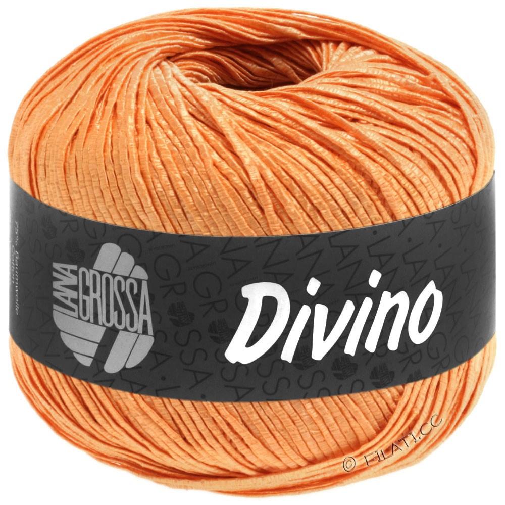 Lana Grossa DIVINO Uni | 58-mandarine