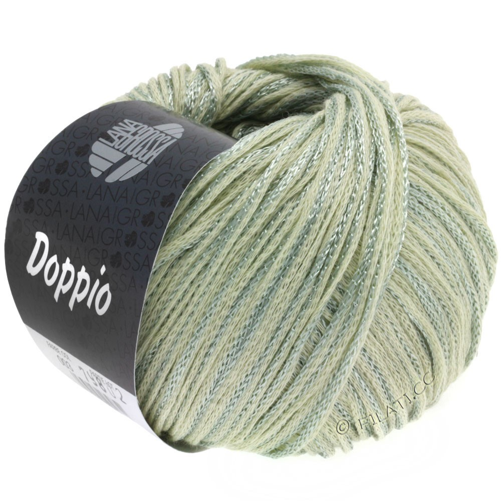Lana Grossa DOPPIO/DOPPIO Unito | 003-nature/gris vert