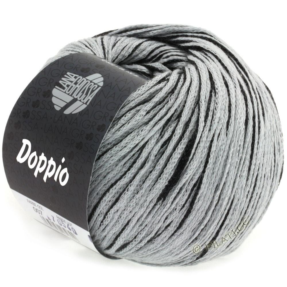 Lana Grossa DOPPIO/DOPPIO Unito | 007-noir/gris clair