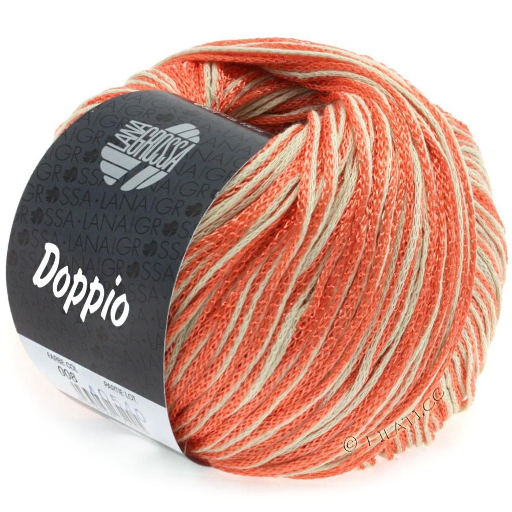 Lana Grossa DOPPIO/DOPPIO Unito | 008-saumon/nature