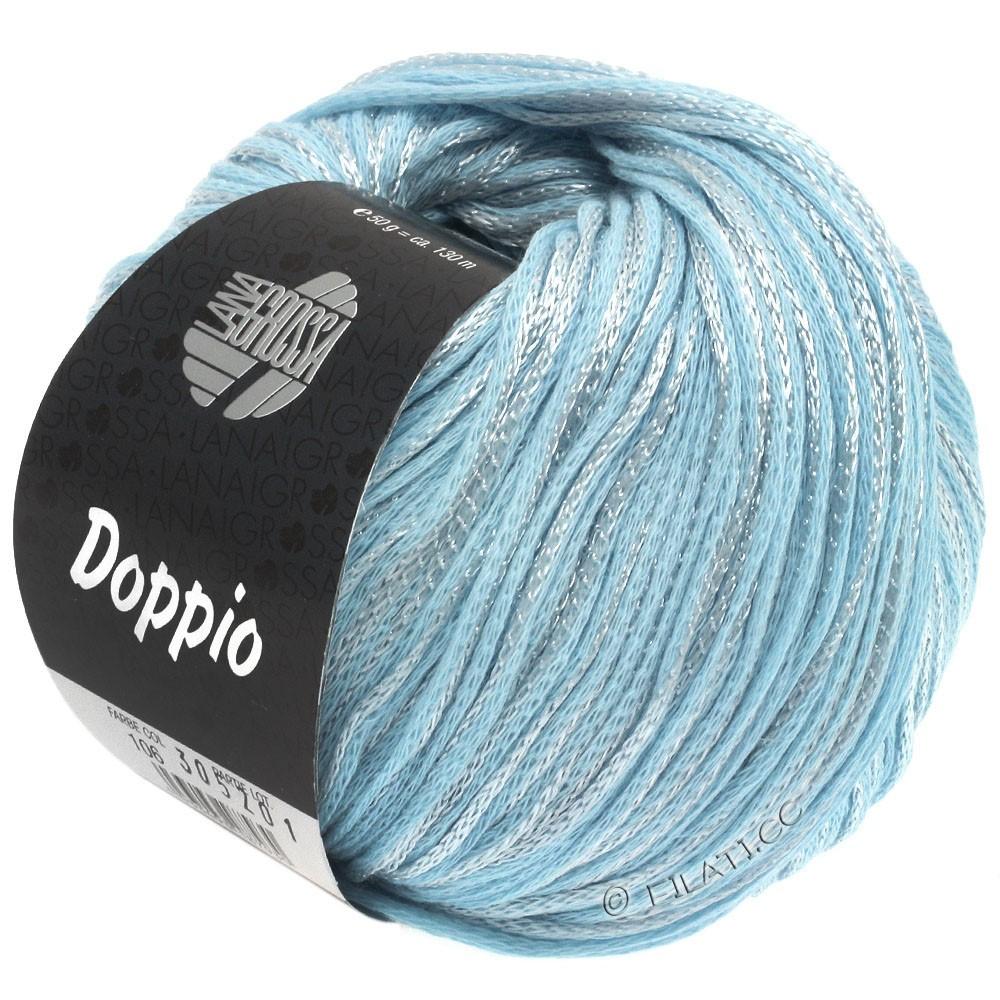 Lana Grossa DOPPIO/DOPPIO Unito | 106-bleu clair