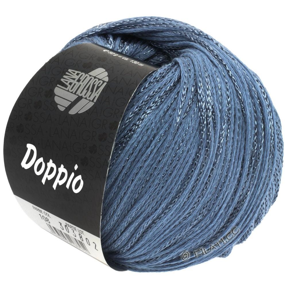 Lana Grossa DOPPIO/DOPPIO Unito | 108-bleu