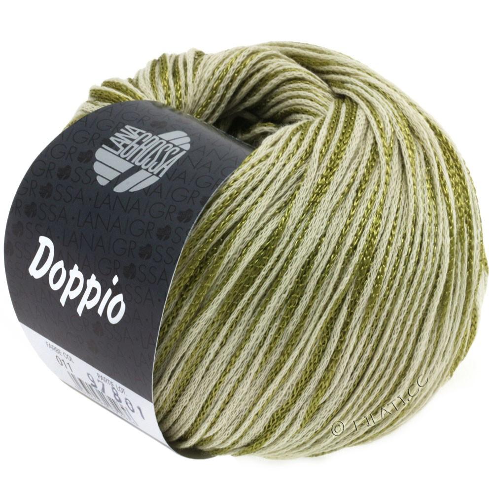 Lana Grossa DOPPIO/DOPPIO Unito | 011-olive/nature