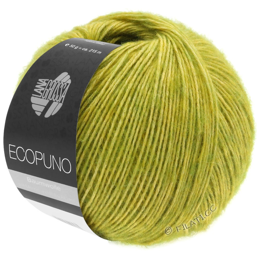 Lana Grossa ECOPUNO | 03-vert jaune