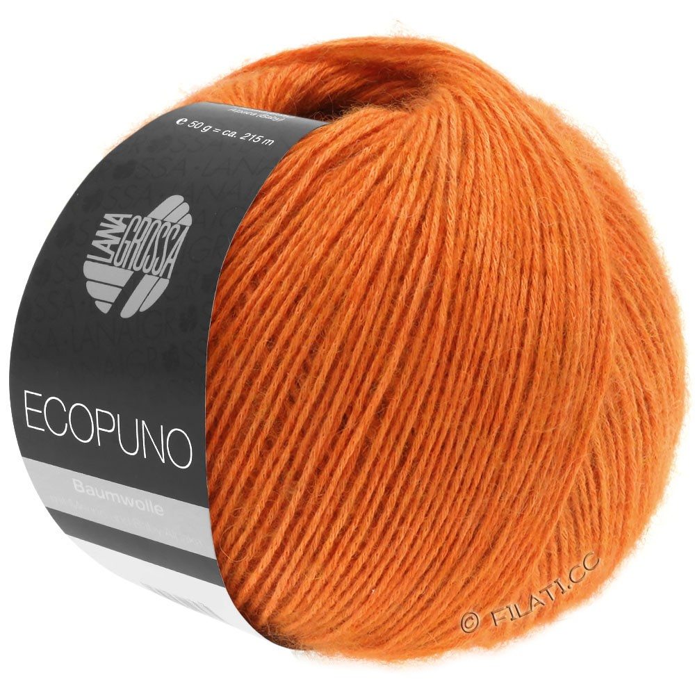 Lana Grossa ECOPUNO | 05-orange jaffa