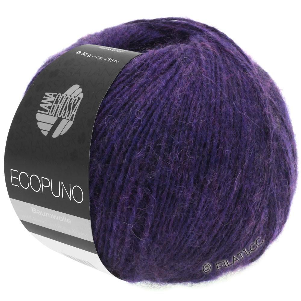 Lana Grossa ECOPUNO | 09-violet foncé