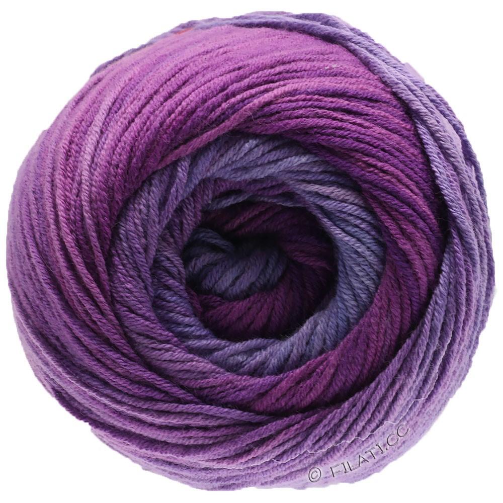 Lana Grossa ELASTICO Degradé | 711-lavande/lilas/violet rouge