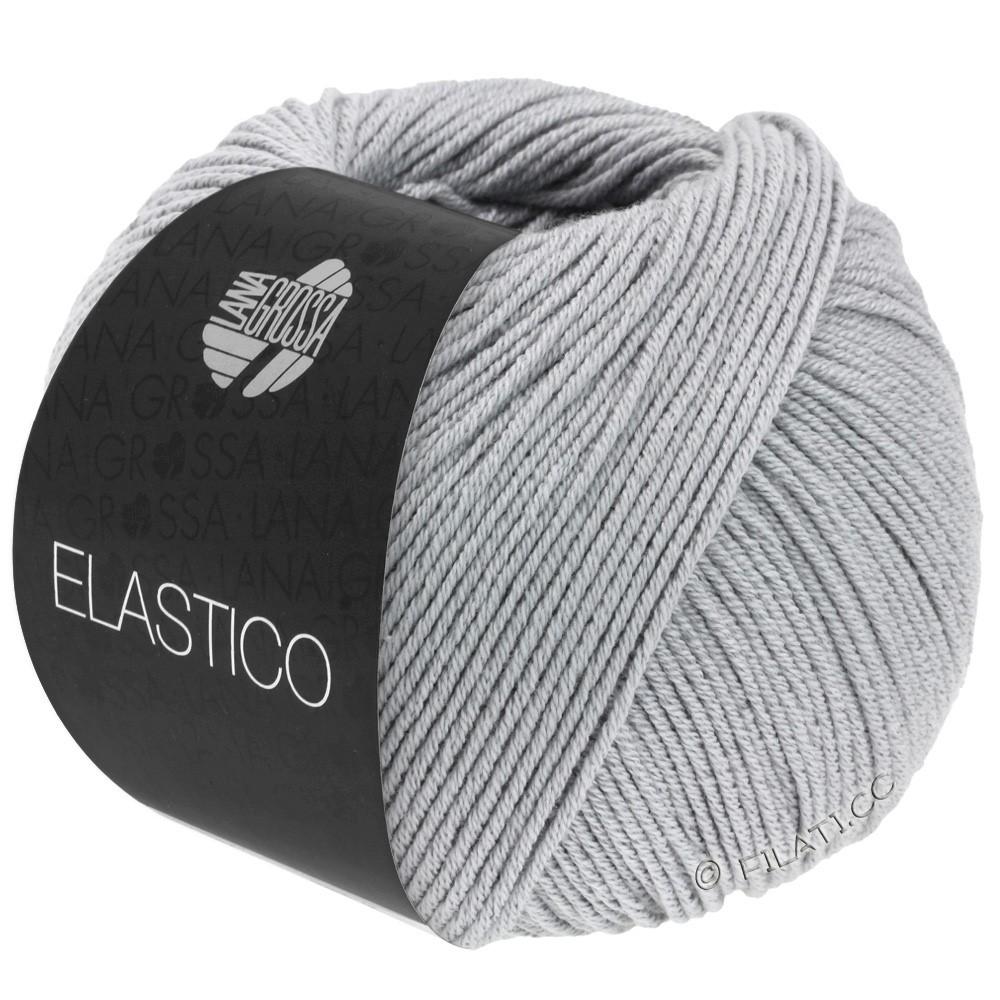 Lana Grossa ELASTICO  Uni/Print | 070-gris clair