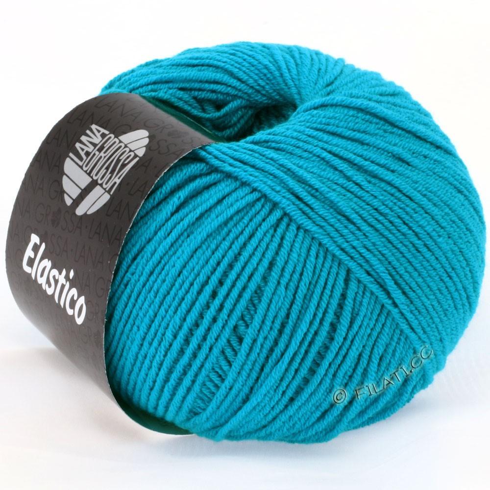 Lana Grossa ELASTICO  Uni/Print | 112-bleu turquoise