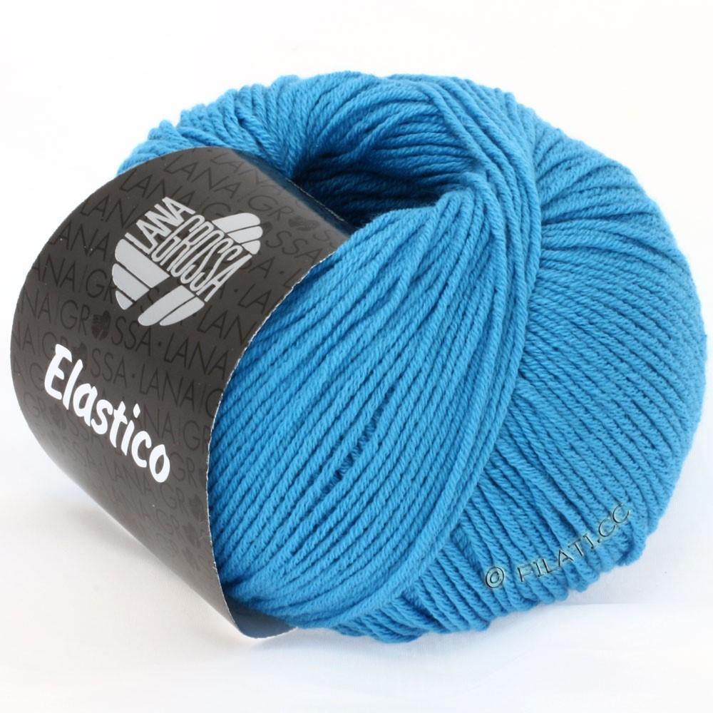 Lana Grossa ELASTICO  Uni/Print | 115-bleu azur