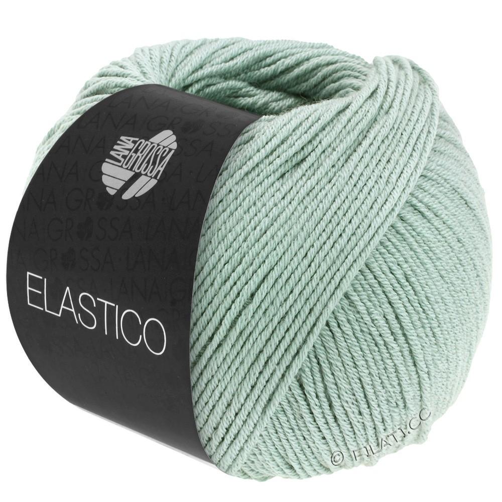 Lana Grossa ELASTICO  Uni/Print | 120-gris vert