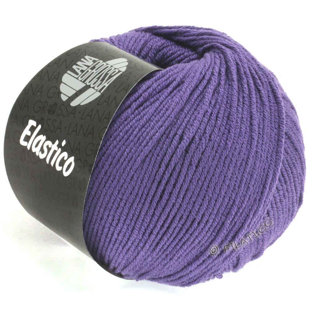Lana Grossa ELASTICO  Uni/Print | 123-violet bleu