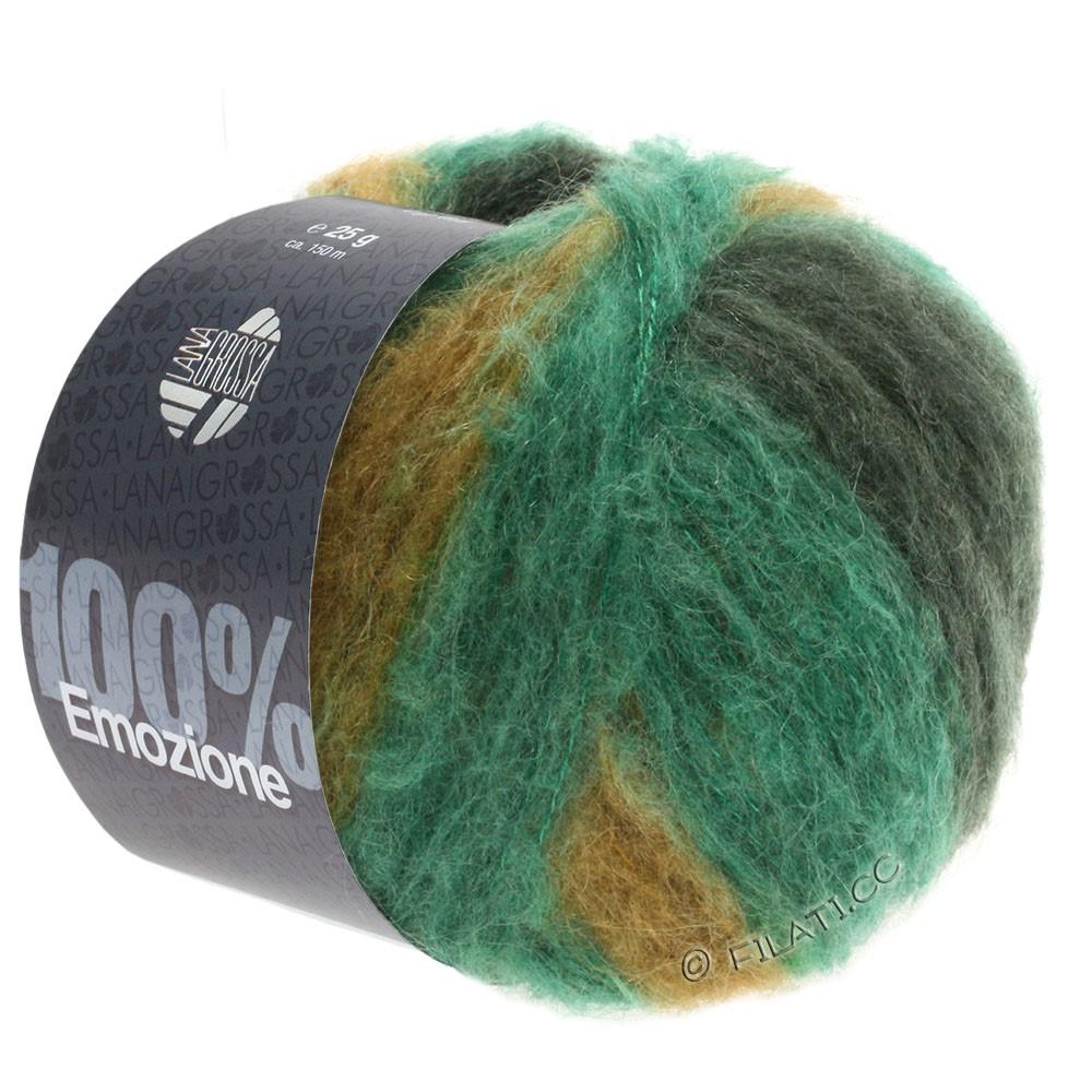 Lana Grossa EMOZIONE Degradé | 103-émeraude/vert noir/olive