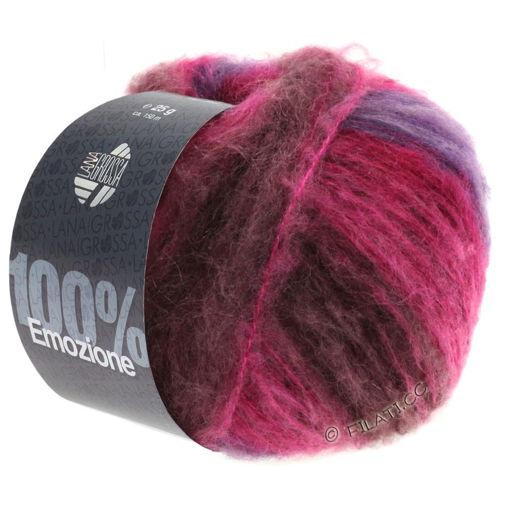 Lana Grossa EMOZIONE Degradé | 104-bourgogne/violet/cyclamen