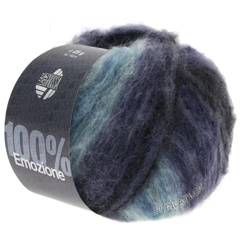 Lana Grossa EMOZIONE Degradé | 105-bleu clair/violet bleu/anthracite