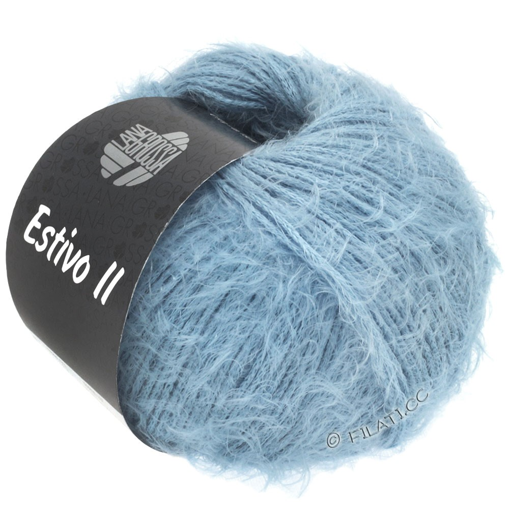 Lana Grossa ESTIVO II | 30-bleu gris