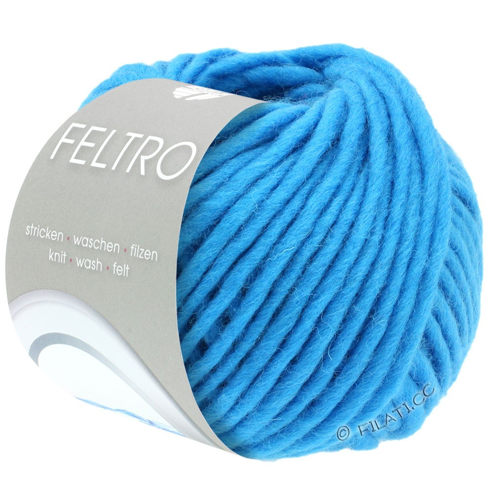 Lana Grossa FELTRO  Uni | 042-bleu turquoise
