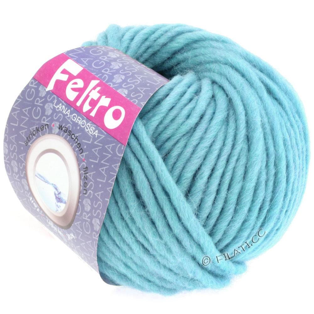 Lana Grossa FELTRO  Uni | 066-bleu clair
