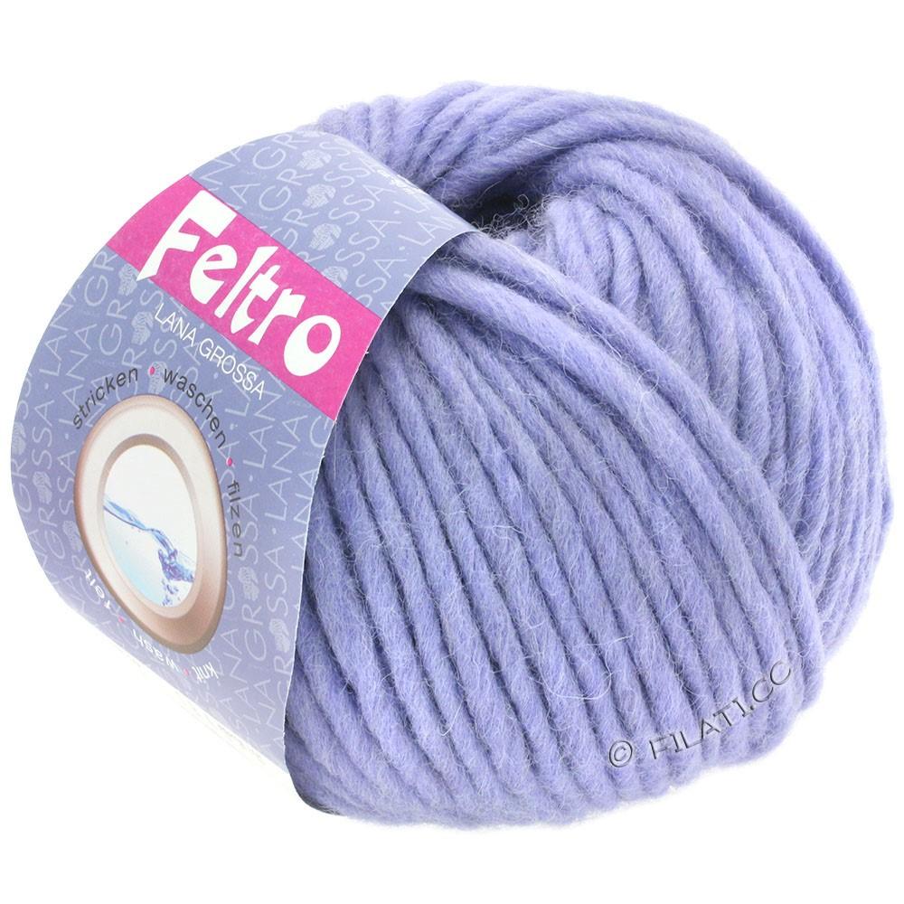 Lana Grossa FELTRO  Uni | 074-violet nacré