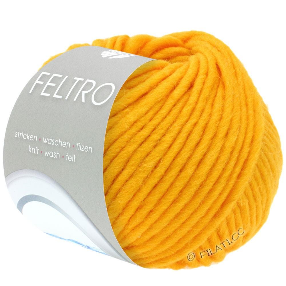 Lana Grossa FELTRO  Uni | 078-jaune vitellus