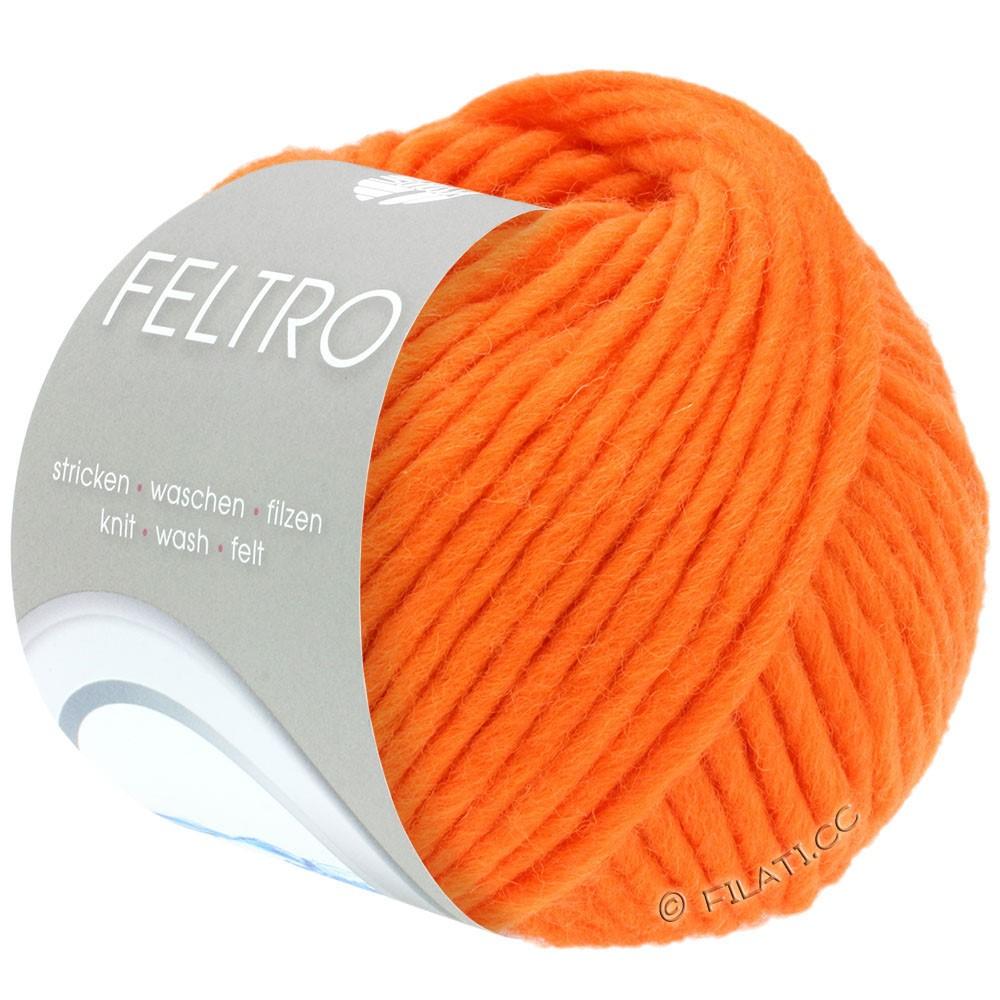 Lana Grossa FELTRO  Uni | 080-mandarine