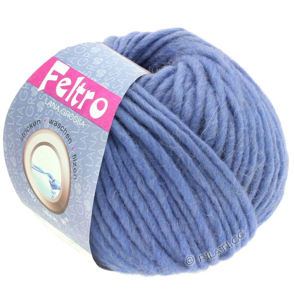 Lana Grossa FELTRO  Uni | 081-bleu comme violettes
