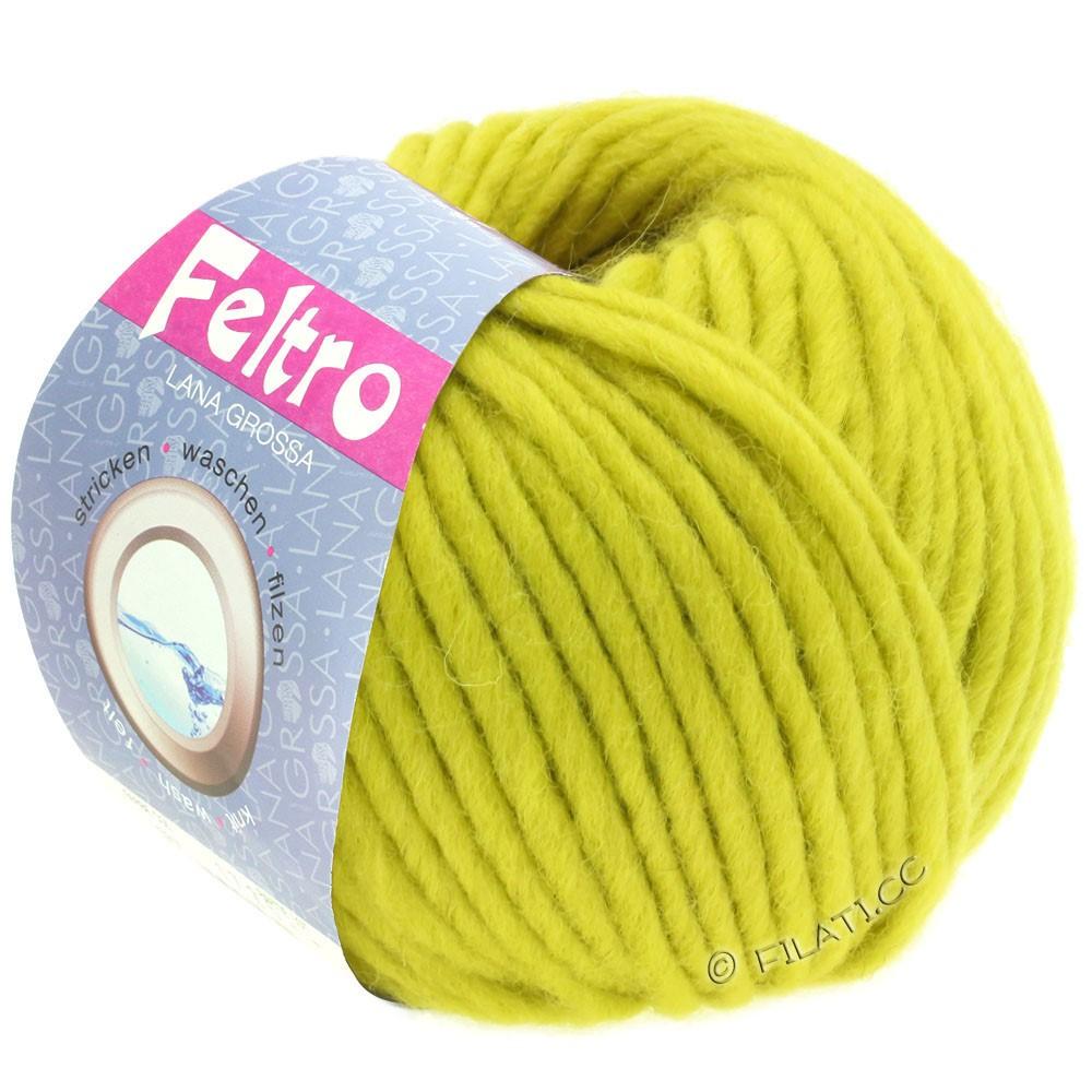 Lana Grossa FELTRO  Uni | 082-jaune vert