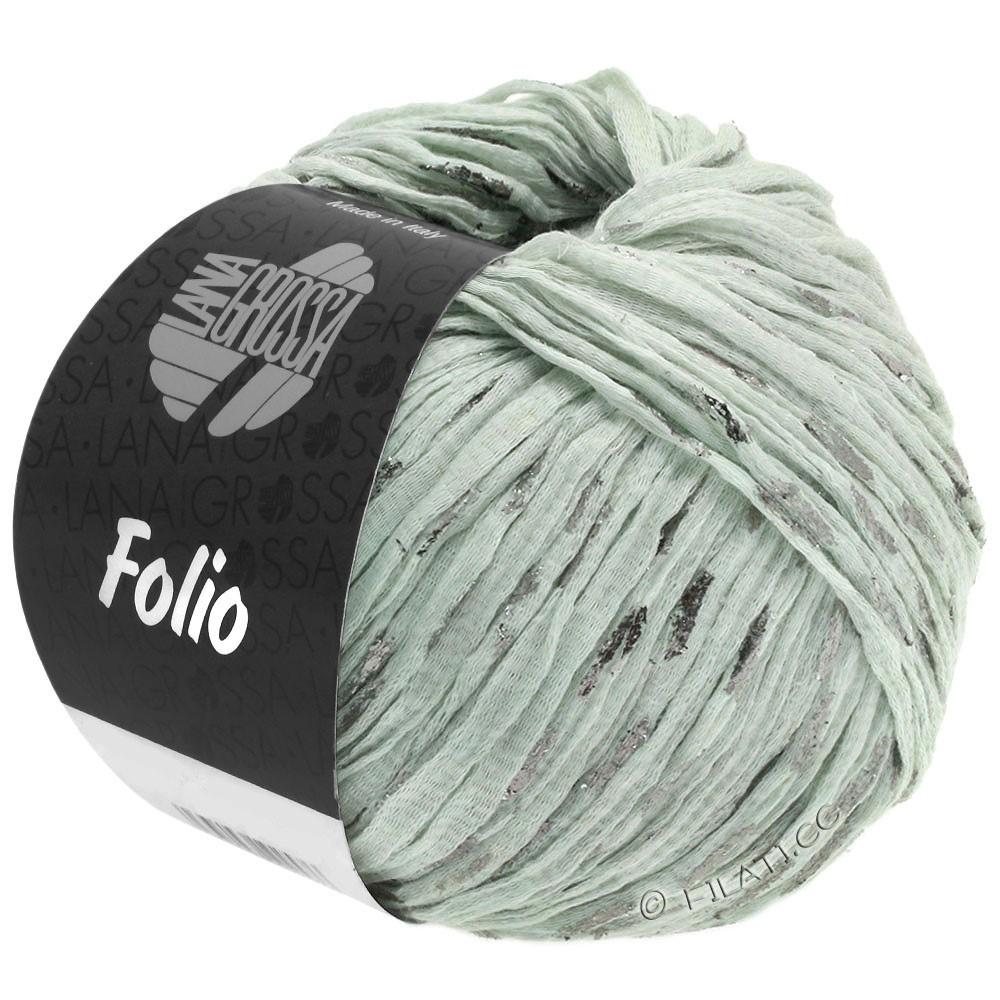 Lana Grossa FOLIO | 02-gris vert/argent