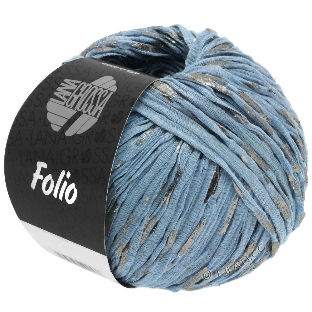 Lana Grossa FOLIO | 04-bleu clair/argent