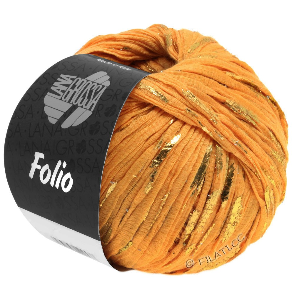 Lana Grossa FOLIO   09-orange/doré