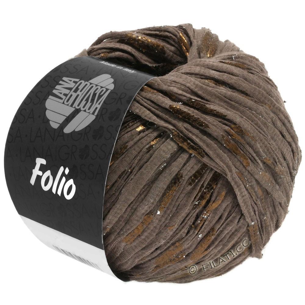 Lana Grossa FOLIO   10-brun/cuivre