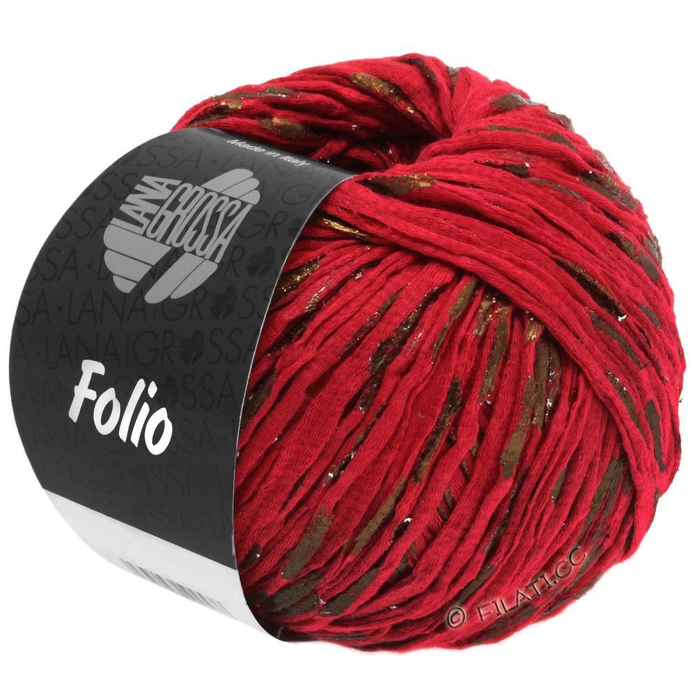 Lana Grossa FOLIO | 12-rouge/cuivre