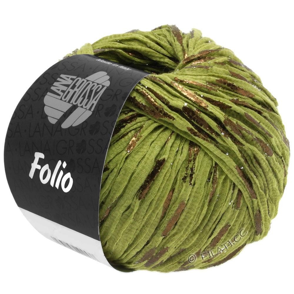Lana Grossa FOLIO | 13-olive clair/cuivre
