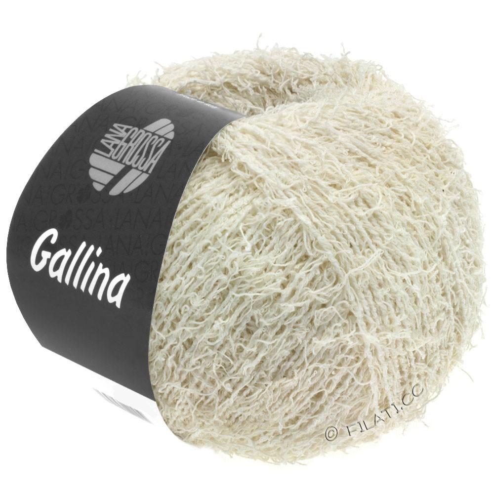 Lana Grossa GALLINA   02-crème