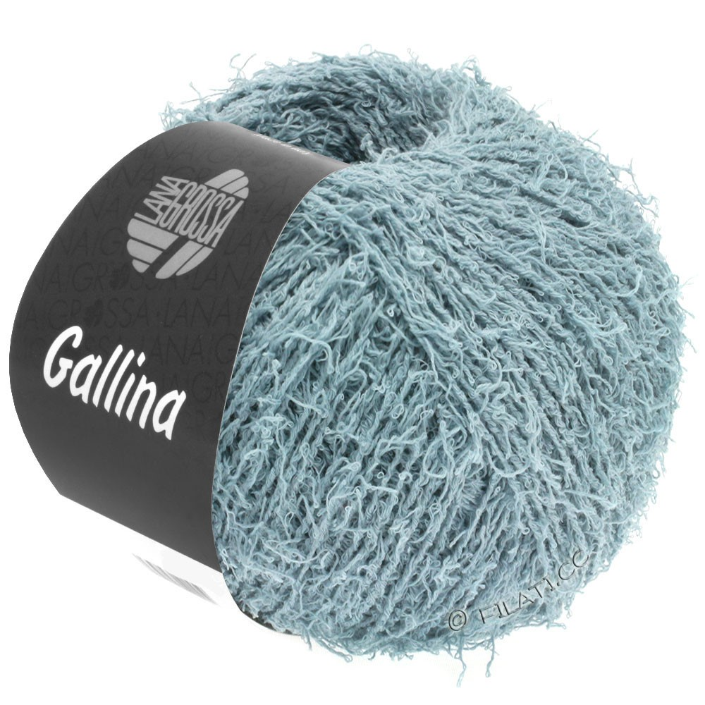 Lana Grossa GALLINA   12-bleu gris