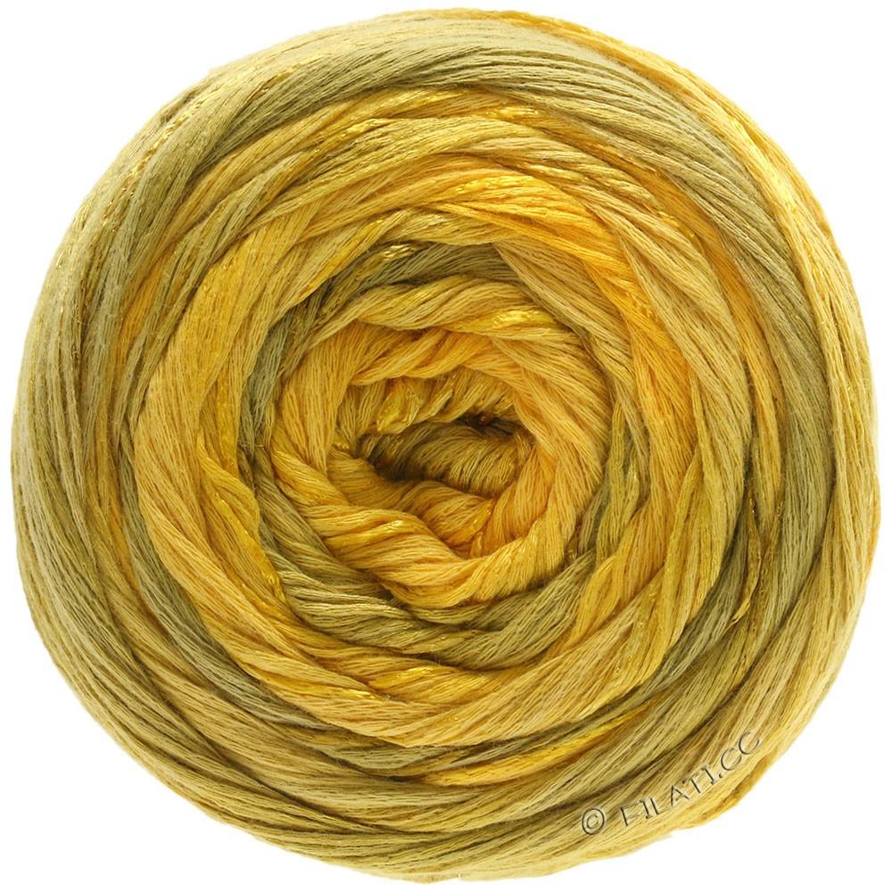 Lana Grossa GOMITOLO ESTATE | 307-jaune soleil/jaune miel/moutarde/jaune safran