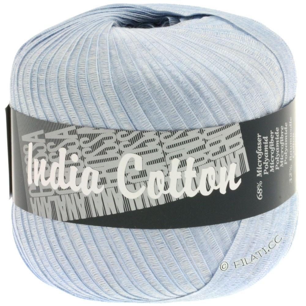 Lana Grossa INDIA Cotton Uni/Print | 204-bleu clair