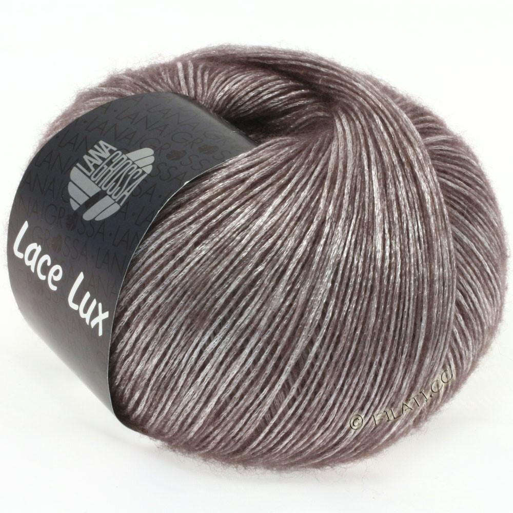 Lana Grossa LACE Lux | 10-brun gris chiné