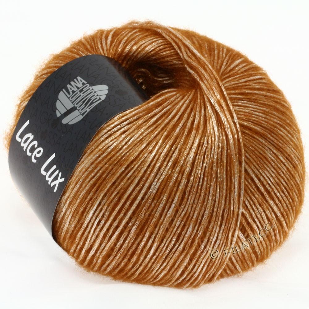 Lana Grossa LACE Lux | 38-cognac chiné